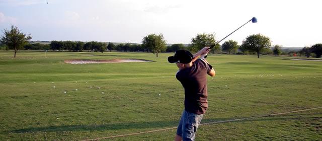 Stephen Golfing