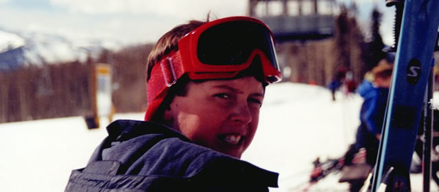 Stephen Skiing